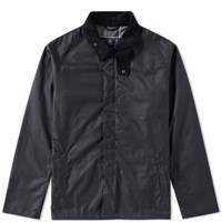 Barbour Crofton Wax Jacket Blue