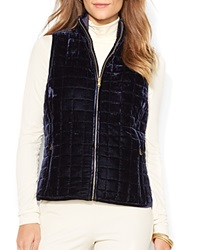 Lauren Ralph Lauren Reversible Quilted Vest Beacon Navy