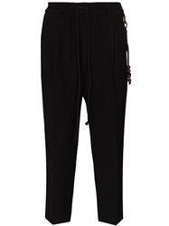 Song For The Mute Beaded Chain Cropped Trousers 60
