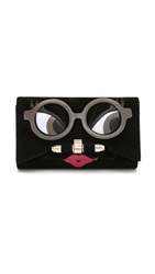 Kara Ross Lady Clutch Black