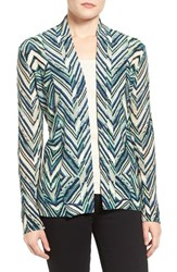 Nic Zoe Women's Chevron Cardigan