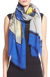 Yigal Azrouel Yigal Azrouel 'Lounging With Jaggie' Modal And Cashmere Print Scarf Capri Multi