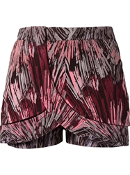 Giuliana Romanno Printed Wrap Shorts