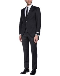 Pal Zileri Cerimonia Suits Black