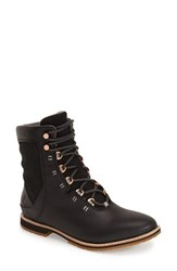 Ahnu Women's 'Chenery' Water Resistant Boot Black