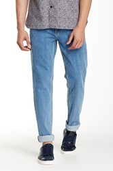 Perry Ellis Slim Fit Straight Leg Jean Blue