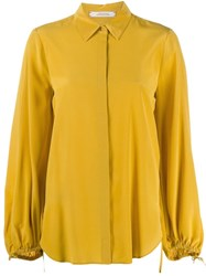 Dorothee Schumacher Drawstring Blouse Yellow