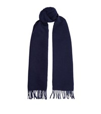 Sandro Double Face Cashmere Wool Scarf Unisex