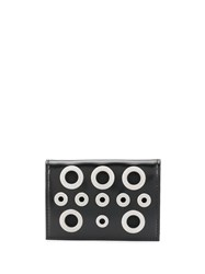 Diesel Eyelet Detail Wallet Black
