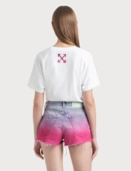 Off White Painted Arrows T Shirt White