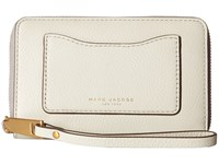 Marc Jacobs Recruit Zip Phone Wristlet Dove Wristlet Handbags Beige