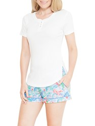 Cyberjammies Celia Short Sleeve Top Ivory