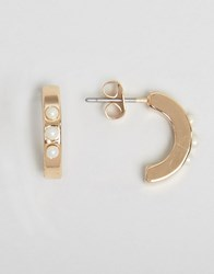 Ny Lon Nylon Gold Plated Hoops Gold Plated