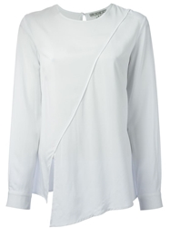 Dagmar 'Linnea' Asymmetric Top White