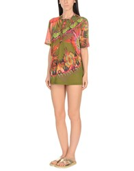 Jean Paul Gaultier Soleil Cover Ups Military Green