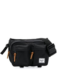 Herschel Supply Co. Eighteen Multi Pocket Fanny Pack Black