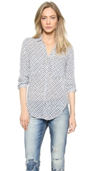 Bella Dahl Hipster Shirt Sailor Blue