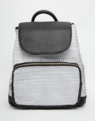 Asos Mesh Backpack Multi
