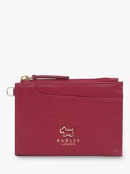 Radley Pockets Leather Small Coin Purse Red