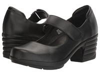 Sanita Icon Commuter Black Burnished Leather Women's Shoes
