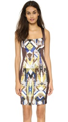 Just Cavalli Scoop Neck Dress Oak