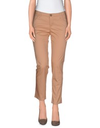 Armani Jeans Trousers Casual Trousers Women Camel