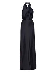 Camilla And Marc Affliction Halterneck Silk Gown