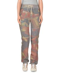 Amaranto Trousers Casual Trousers Women Grey
