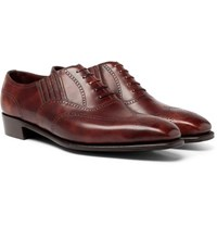 George Cleverley Anthony Churchill Leather Oxford Brogues Brown