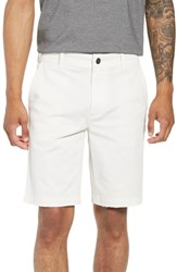 Hudson Jeans Clint Chino Shorts Off White