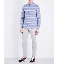 Tommy Hilfiger Straight Fit Mid Rise Twill Chinos Drizzle