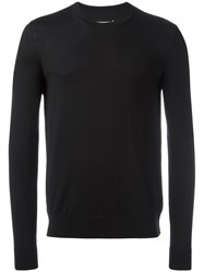 Maison Martin Margiela Crew Neck Jumper Black