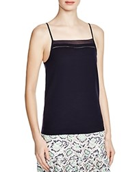 French Connection Polly Plains Camisole Top Utility Blue
