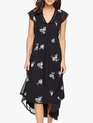 Damsel In A Dress Mirna Floral Embroidered Black