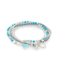 Astley Clarke Biography Take A Chance Diamond Turquoise Apatite And Amazonite Silken Beaded Sterling Silver Ch