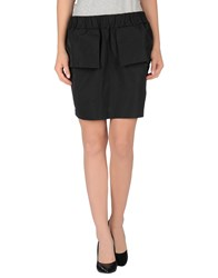 Suno Skirts Mini Skirts Women Black