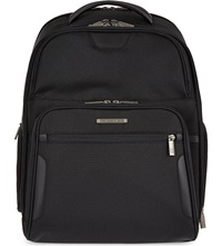 Briggs And Riley Clamshell Backpack Black