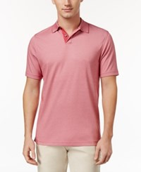 Tasso Elba Men's Polo Only At Macy's Classic Rose