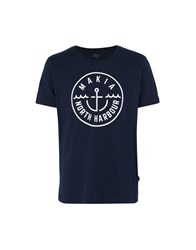 Makia T Shirts Dark Blue