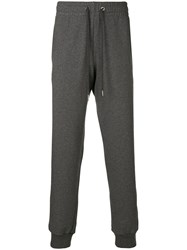 Versace Drawstring Fitted Trousers Grey