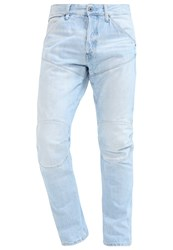 G Star Gstar 5620 3D Tapered Straight Leg Jeans Light Blue Denim Light Blue Denim