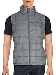 Hawke And Co Sleeveless Puffer Vest Grey