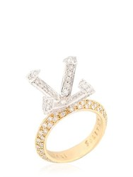 Cristiano Pagnini Solitaire Setting Diamonds Ring