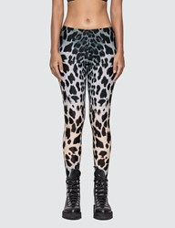 R 13 R13 Faded Leopard Leggings Brown