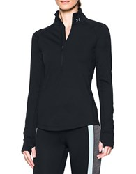 Under Armour Solid Long Sleeve Top Black