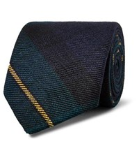 Polo Ralph Lauren 8Cm Checked Linen Tie Navy