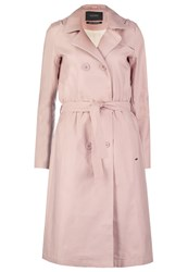 Maison Scotch Trenchcoat Blush Nude