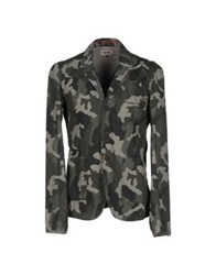 Tommy Hilfiger Denim Blazers Military Green
