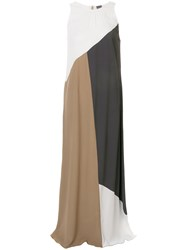 Lorena Antoniazzi Colour Block Maxi Dress Multicolour