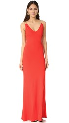 Ramy Brook Chantal Gown Spring Red